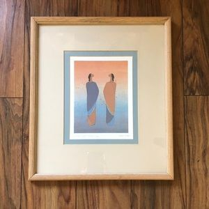Signed Lithograph Ioyan Mani Where Night Meets Day
